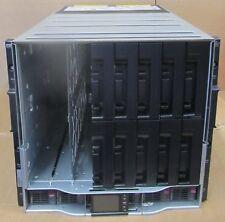 HP BladeSystem chasis del compartimento C7000 G2 GEN2 6x 2400 W PSU 10x ventiladores 2x oa