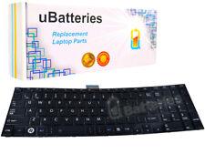 Laptop Keyboard Toshiba V130526AS1 V000272360 V000272370 - Black, big enter key