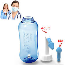 EZGO 300ml Nasal Wash Neti Pot Nose Cleaner Sinus Allergies Relief