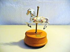"New ListingCarousel Horse Music Box - ""Carousel Waltz"" - Pre-Owned"