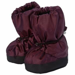 7AM Enfant 212 Soft Soled Booties Water Repellent Insulated and Quilted Metallic