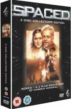 Simon Pegg Jessica Stevenson-spaced The Complete First and Second SerieDVD