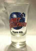 Planet Hollywood BEVERLY HILLS CALIFORNIA Tall Shot Glass Unused