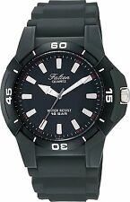 New CITIZEN Q&Q Falcon Q596-851 Analog Men's Watch Black Japan Best Seller Model