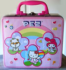Set Hello Kitty caramelos Pez Fiambrera HK metal candy My Melody Vintage pink