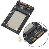 "Enclosure mSATA SSD to 2.5"" SATA Convertor Adapter Card SSD Case for PC Laptop A"