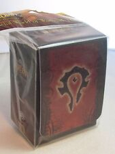 WoW World Of Warcraft Horde Deck Box Card Box