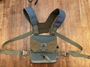 FHF Gear Small Bino case harness foliage and shoulder pad