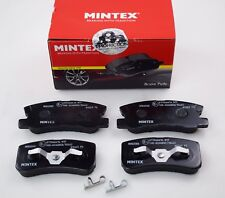 MINTEX REAR BRAKE PADS LANCIA MITSUBISHI PEUGEOT MDB2080 (REAL IMAGE OF PART)