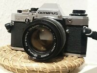 Olympus OM10 Chrome m. 1,4/50mm Zuiko Auto-S #716480 Olympus OM-System