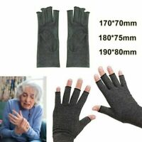 Anti Arthritis Finger Hand Compression Cotton Gloves Brace Support Pain Relief