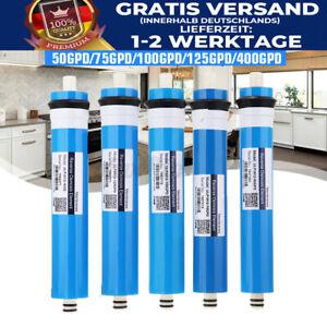 50-400 GPD Home Membrane Ersatz RO Umkehrosmose Wassersystem Filter Blau D