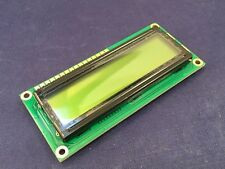 FECC1602G-RNNYBW-66SE Alphanumeric LCD Display Yellow on Green 2 x 16 Characters