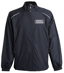 Animal Trainer jacket, windbreaker, Reflective design,