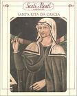 STAMPA SU CARTONCINO IMMAGINE SACRA - SANTA RITA DA CASCIA - CM. 19x24
