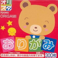 """300s Origami Folding Paper Multiple Color 3"""" # 101070 S-1669"""