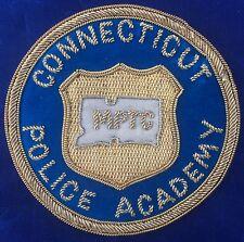 Connecticut Police Academy MPTC Municipal Police Training Council Bullion Patch