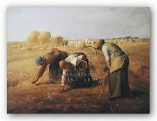 MUSEUM ART PRINT Gleaners Jean Francois Millet 14.63x11