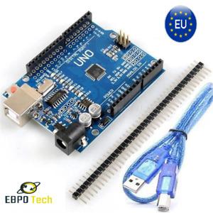 UNO R3 Board ATmega328P CH340 5V Arduino Komp. Deutsch EBPO Tech