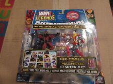 Marvel Legends Showdown Colossus vs Magneto Starter Set