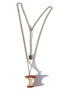 Apple Core Necklace 64cm Apple Core Pendant and Chain