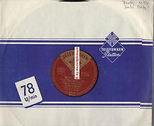 """♫ 10"""" FREDDY QUINN 1955 Samba Medley Telefunken 11796 ! SEINE ERSTE ! RARITÄT ♫"""