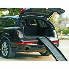 Pet Dog RAMP - Folding Travel Lightweight Transport Car Van - 50kg Capacity