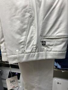 Men's Puma Cobra Golf Pants White 32x32 NWT Style #568580 Rickie Fowler 50% OFF