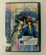 Rurouni Kenshin Anime DVD~Tales of Meiji Vol 15~The Fireflys Wish~Ep 63-66