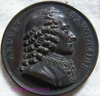 MED9892 - MEDAILLE AROUET DE VOLTAIRE 1817 par CAENOIS