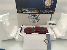 New Listing1:24 Franklin Mint 1968 Shelby Gt500 Mustang Ltd. Ed. #0616 Of 9900-No Reserve