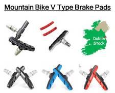 1 Pair Mountain Bike Bicycle V Type Brake Pads Blocks Cycling Rubber Shoes