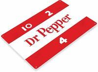 Dr Pepper Vintage Retro Soda Metal Decor Sign