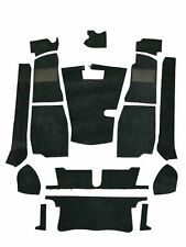 MG MGB Roadster 1968-1980  4 synchro Complete Replacement Black Carpet Set