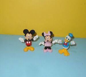 2013 Mattel Disney Club House Mickey Mouse & Minnie w/ Donald Duck BGL77