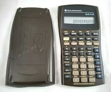 New ListingTexas Instruments Baii Ba2 Plus Financial Calculator Brown Free Shipping Tested