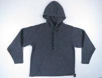 NWOT Vintage 90s LL Bean Aztec Southwestern Hooded Snap T Fleece Pullover Jacket