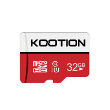 Kootion TF Card 32GB Micro SDHC UHS-I Class 10 High Speed Data Transit to 80MB/s