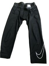 Nike Boys Girls  XL Fitted Tights Compression Pants Youth Kids Black Base YXL