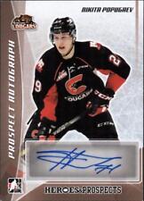 ET) 2016-17 ITG Heroes and Prospects Prospect Autographs  Nikita Popugaev AUTO