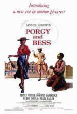 PORGY AND BESS Movie POSTER 27x40 Sidney Poitier Dorothy Dandridge Sammy Davis