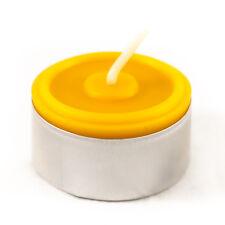 20 Teelichter 100% Bienenwachs Handarbeit Kerzen 100% Dt. Imker Bienenwachs