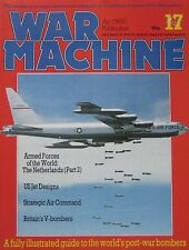 War Machine magazine Issue 17 The World's Post-War Bombers, Boeing B-52 cutaway