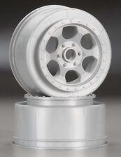 - DER-BB-K4S 1pr Front Silver Kyosho ZX-5 DE Racing 1/10 Scale Wheel