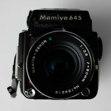 Mamiya 645 1000S 120 Camera with Sekor C 2.8 80mm Lens and meter Prism finder