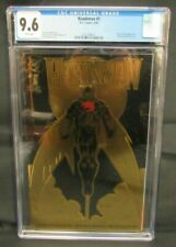 Hawkman #1 (1993) Embossed Gold Foil Cover DC CGC 9.6 C830