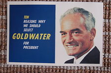 Barry Goldwater For President campaign poster 1964