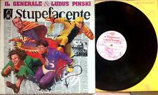 IL GENERALE & LUDUS PINSKI / STUPEFACENTE - LP (Italy 1991) EX/EX-