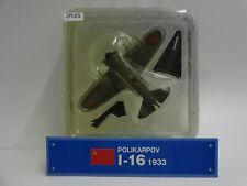 Del Prado Polikarpov I-16 1933 1/75 Scale War Aircraft Diecast Display 65