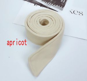 Faux Wool Belt for Ladies Coat Overcoat Jacket Sash Tie 175cm*5cm Belt
